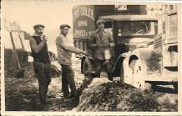 JAMIOULX : SUPERBE ET TRES RARE CARTE PHOTO - Camion Su Marchand De Grains E. Fayt - Carlier - Ham-sur-Heure-Nalinnes