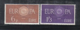 W1959 - IRLANDA 1960 , Serie N.  146/147 ***  MNH Europa - 1949-... Repubblica D'Irlanda