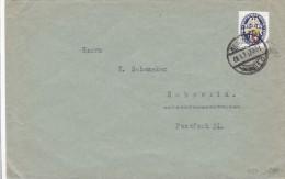 Brief mit Mnr 433  zum Schwerin 1929