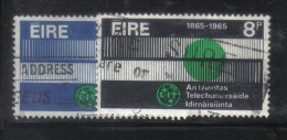 W1969 - IRLANDA 1965 , Serie N. 169/170 - 1949-... Repubblica D'Irlanda