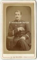 CDV élégant Sergent Du 25e Régiment-vers 1885-photographie Universelle Lyon-TB état - Guerra, Militari