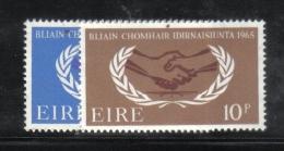 W1971 - IRLANDA 1965 , Serie N. 173/174  ***  MNH Onu - 1949-... Repubblica D'Irlanda