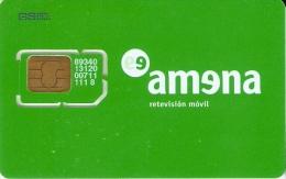 AMR-003 TARJETA DE GSM DE AMENA SIN NUMERO (RARA) - España