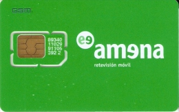 AMR-003/1 TARJETA DE GSM DE AMENA SIN NUMERO - España