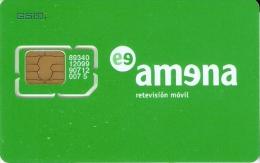 AMR-004 TARJETA DE GSM DE AMENA DUAL CON SU CHIP ORIGINAL (NUEVA-MINT) - España