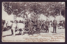 Carte Postale - CHINE - CHINA - SHANGHAI - Pompe de Honkew - hunkew pump - cachet Hankow 1903 - Postcard  //