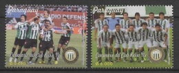 Paraguay (2013)  - Set -   /  Club Rubio Nu - Soccer - Football - Calcio - Fussball - Futbol - Clubs Mythiques