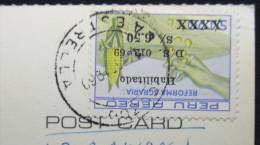 Postcard, Peru, nice stamp