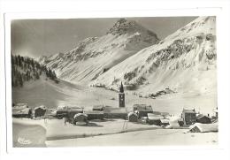 Cp, 73, Val D'Isère, Vue Générale  Et Pointe Du Charvet - Val D'Isere