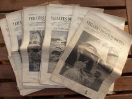 1935 Veillées Des Chaumières (27 Revues) LE VOILIER SANS NOM De Claude Véla;St-Cyr Ou L'Institut Des Dames De St-Louis - Bücher, Zeitschriften, Comics