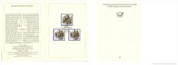 DDR 1989 Mi. 3258-3259 FDC Folder, 200 Year French Revolution, Scenes, Bastille Sansculottes, CURIOSITY: See Remark - Rivoluzione Francese