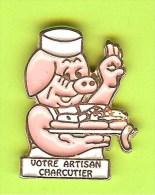 Pin Votre Artisan Charcutier Cochon - 1T18 - Animals
