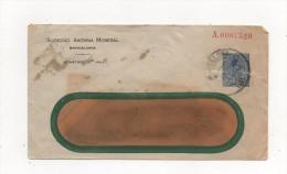 Entero Postal Privado Cerca 1913, Sociedad Anónima Monegal Barcelona - Cartas