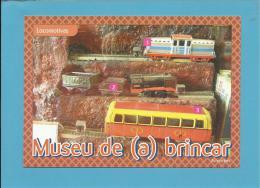 ARRONCHES - MUSEU DE ( A ) BRINCAR - LOCOMOTIVAS - Portugal - 2 SCANS