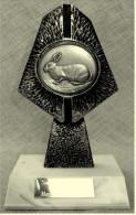 Pokal Kaninchen-Zucht-Verein  -  Clubschau Nassau  -  Ca. 19 Cm Länge  -  Von 1985 - Vereinswesen