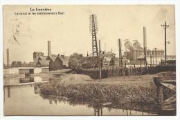 LA LOUVIERE - Le Canal Et Les établissements Boël - 1930 - La Louvière