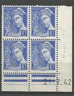 COIN DATE N� 407 / 1940 NEUF* TTB
