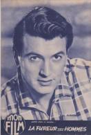 MON FILM N° 638 DU 5 11 1958  - LES AMOURS DE NOS VEDETTES ROBERT HOSSEIN, YVES ROBERT, ROCK HUDSON, SOPHIE DAUMIER - Cinéma/Télévision