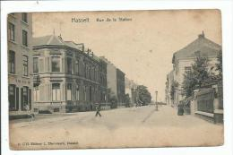 Hasselt. Rue de la Station.