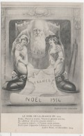 PERE NOEL - Surréalisme  - Femmes - Alsace - Lorraine - Guerre 1914 - Poeme De André Rosa..Ill. Mattei . (72046) - Fantaisies