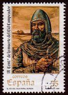 Spain, Sc , SG 3588 Used, Hinged - 1999 35p.  - Anniversary, Personalities, Death - España