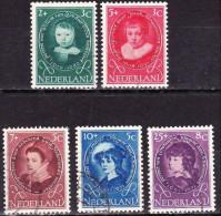1955 Kinderzegels Gestempelde Serie NVPH 666 / 670 - 1949-1980 (Juliana)
