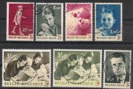 Nrs 1262/1268 Rode Kruis/Croix Rouge Oblit/gestp - Oblitérés