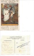 EMBREVILLE (Somme) Usine à ... Société Anonyme Des Coffres-forts HENRI LEQUEUE - PARIS - France