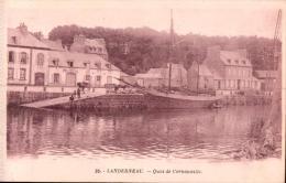 29 LANDERNEAU QUAI DE CORNOUAILLE  PAS CIRCULEE - Landerneau