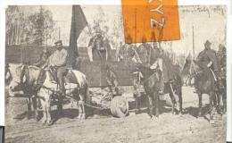 Char De Guerre Hussite ( 14 Eme Siecle  )lors D'une Cérémonie Militaire à IRKOUTSK Pli En Haut à Droie ( Voir Scan )r - Russie