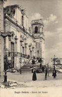 CARTOLINA D'EPOCA DI REGGIO CALABRIA AVANZI DEL DUOMO DOPO IL TERREMOTO VIAGGIATA NEL 1909 - Reggio Calabria