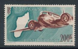 Madagascar N°64A* PA - Posta Aerea