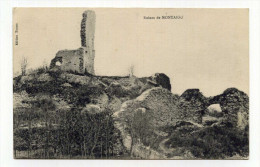 CP, 71 , BOURGNEUF-MERCUREY , Ruines De Montaigu - Altri Comuni