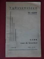 'S GRAVENSTEEN  TE GENT  GIDS  VOOR DE BEZOEKER - Livres, BD, Revues
