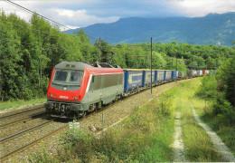 CPM LE RAIL USSELLOIS N° 584 BB 36004 ARTEMARE 01 - Trenes