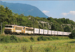 CPM LE RAIL USSELLOIS N° 583 BB 7434  ARTEMARE 01 - Trenes