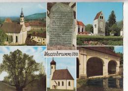 BF29851 Wessobrunn B Weilheim Obb Germany Jugendkurheim Kloster Front/back Image - Weilheim