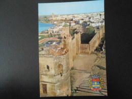 MAROC Carte Postale RABAT : Armoiries De La Ville Et Jardins Des Oudaias - Rabat