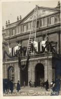 CARTOLINE D'EPOCA DEL VEGLIONE DELLA SCALA D'ORO ANNO 1912  RARISSIMA!!!!! - Inaugurazioni