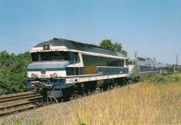 CPM LE RAIL USSELLOIS N° 576 CC 72061 TGV - A, Rame 373 BELLEVILLE Sur VIE 85 - Trenes