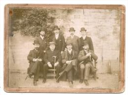 JERSEY GUERNESEY  ??? Notables -  19cm X 13cm  PIDOSEL BAY  Avant 1900 (supposé 1895 Deux Photos Datées Dans Le Lot) - Personnes Anonymes