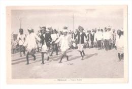 DJIBOUTI DANCING DANCE DAS TANZEN  Danse Arabe - CPA (Afrique Africa) UNUSED - Djibouti