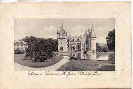 42. Saint Just En Chevalet. Chateau De Contenson - Otros Municipios