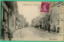 Lasse -  Maine Et Loire -  Grande Rue - Animée - Saumur