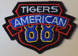 Patch Écusson Tissu à Coudre -  Football Américain - American Tigers - Football - NFL