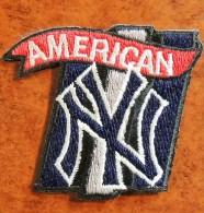 Patch Écusson Tissu à Coudre -  Football Américain - American New York - Football Américain - NFL