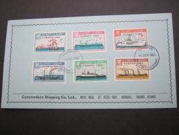 1963 , ALDERNEY , EUROPA     On Cover  ,   2 Scans - Alderney