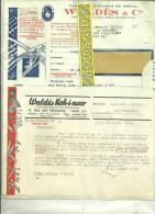 75 - Paris - PARIS-10e - Facture WALDES - Fabrique D'objets En Métal – 1939 - REF 99B - 1900 – 1949