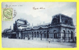 * Arlon - Aarlen (Luxembourg - La Wallonie) * (SBP, Nr 27) La Gare, Railway Station, Bahnhof, Belle Animation, Rare, CPA - Arlon