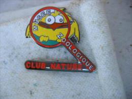 Pin�s du Mus�e Zoologique du Club Nature